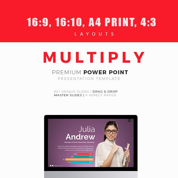 Multiply Premium Power Point Template