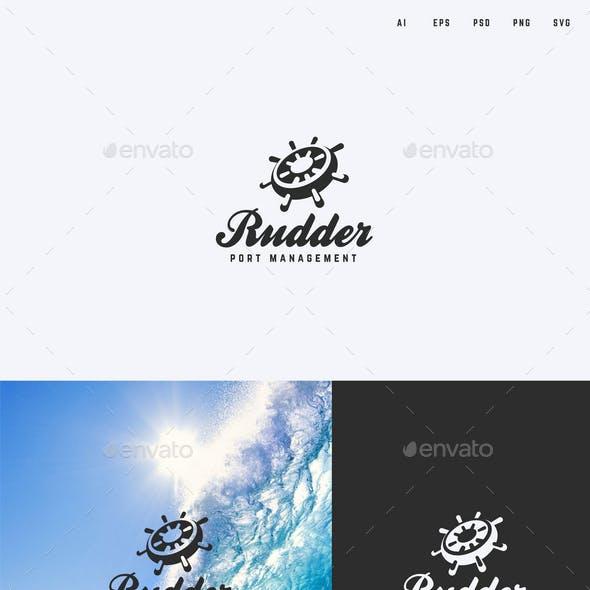 Rudder/Helm Logo Template