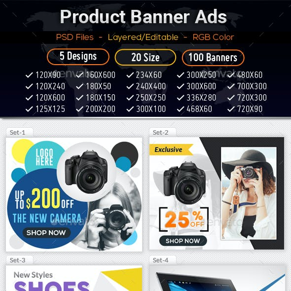 Product Ad Banners 04