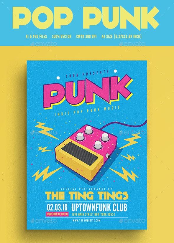Pop Funk Music Flyer - Flyers Print Templates