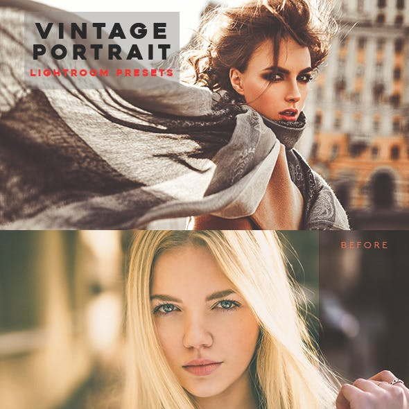 Vintage Portrait Lightroom Presets