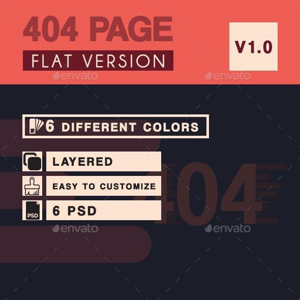 404 Flat Page