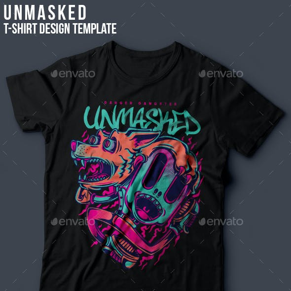 Unmasked T-Shirt Design
