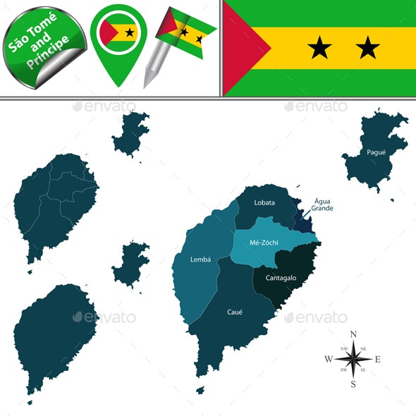 Map of Sao Tome and Principe with Named Districts Sao Tome And Principe Map on djibouti map, senegal map, rwanda map, namibia map, swaziland map, cape of good hope map, kenya map, nubian desert map, mauritius map, burkina faso map, saint kitts and nevis map, togo map, sierra leone map, lake tanganyika map, atlas mountains map, cape verde map, seychelles map, saudi arabia map, mount kilimanjaro map, falkland islands malvinas map,