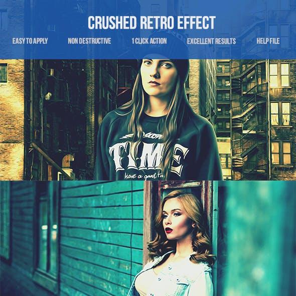 Crushed Retro Photoshop Action