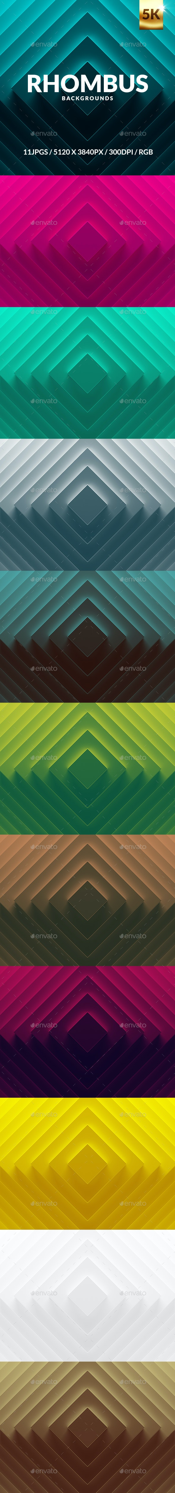 Rhombus Backgrounds - Backgrounds Graphics