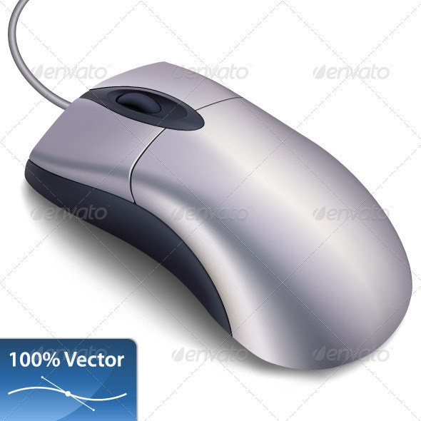Realistic computer mouse - Computers Technology