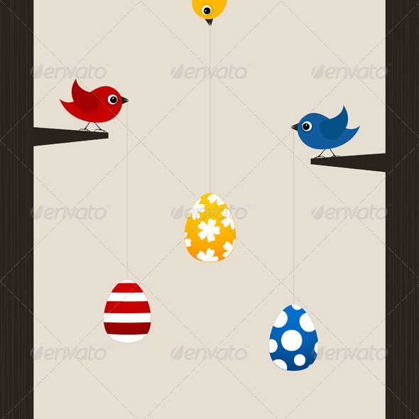 Easter bird - Animals Characters