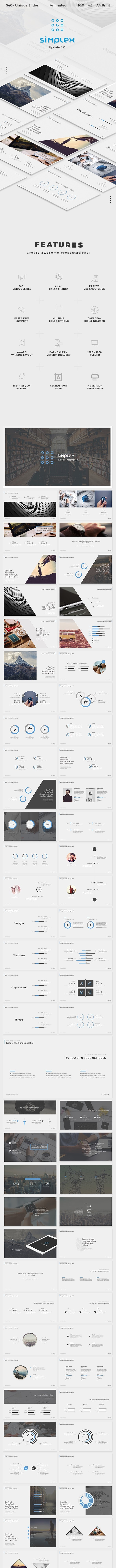simplex Powerpoint - PowerPoint Templates Presentation Templates