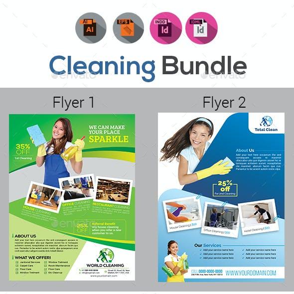 Cleaning Flyer Bundle V2