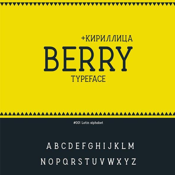 Berry Typeface