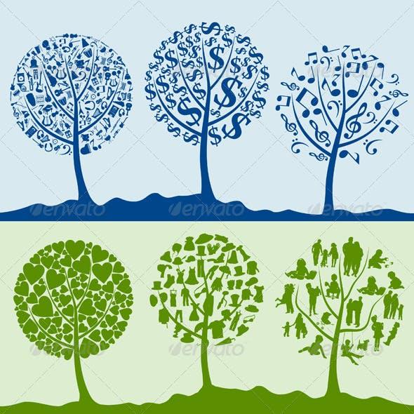 Wood tree5