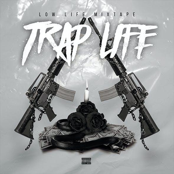 Trap Life - CD Cover Artwork Template