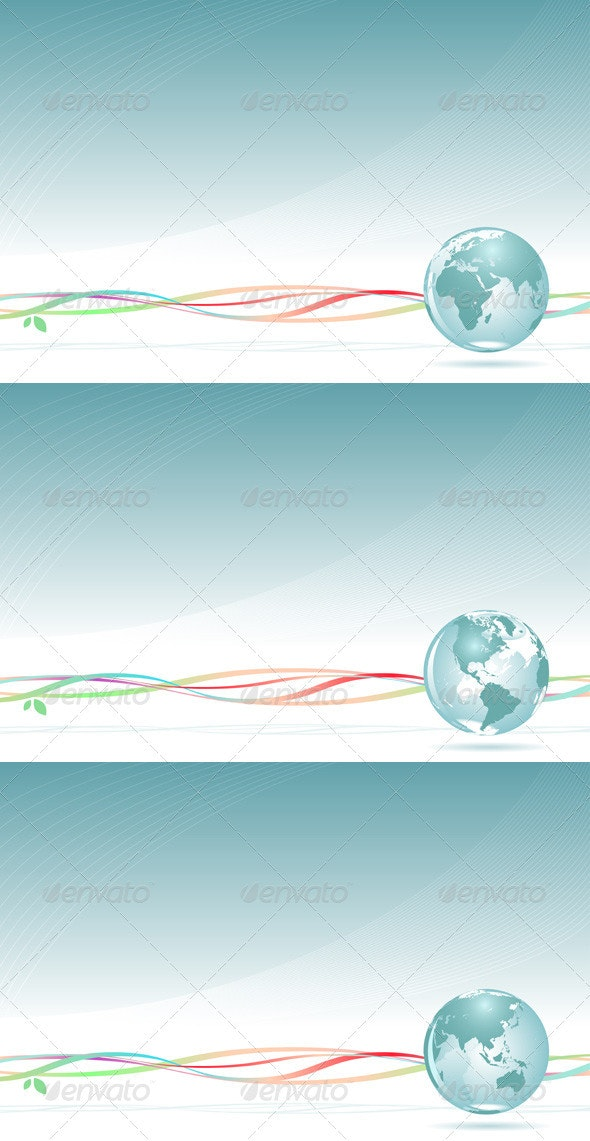 Abstract Globe Backgrounds. - Backgrounds Business