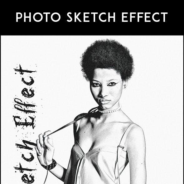 Photo Sketch Effect - Pencil Sketch Action