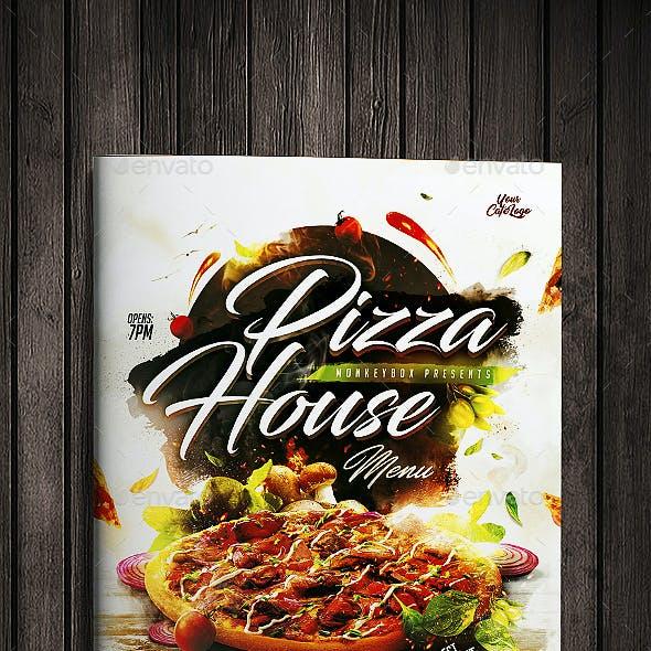 Pizza House Menu