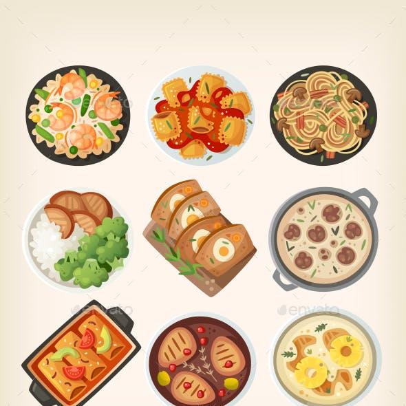 Homemade Dinner Dishes