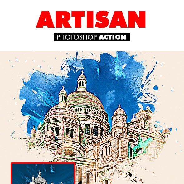 Artisan Photoshop Action