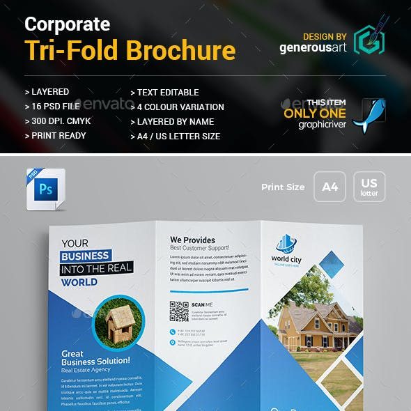 Real Estate Tri-Fold