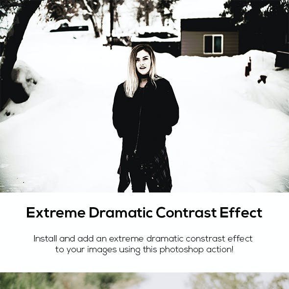 Extreme Dramatic Contrast Effect