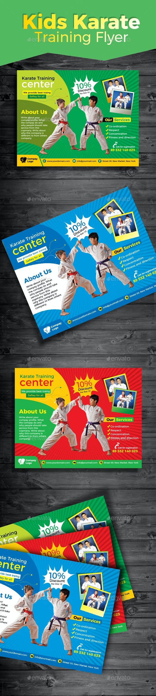 Kids Karate Training Flyer - Sports Events