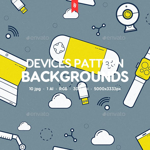 Devices Pattern Backgrounds