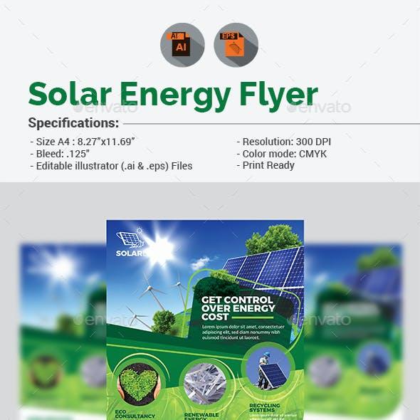 Solar Energy Flyer