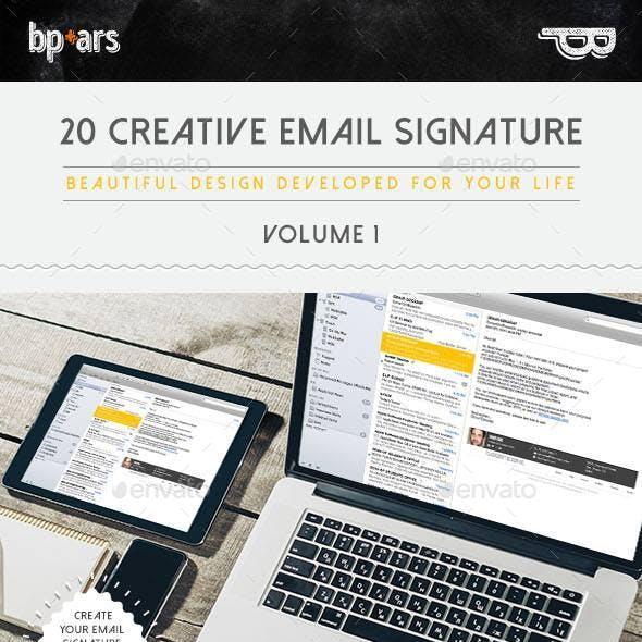 20 Email Signature