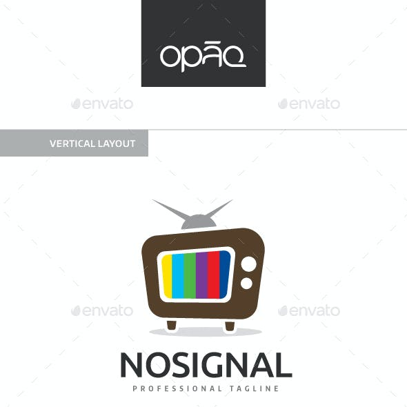 Old TV Signal Logo