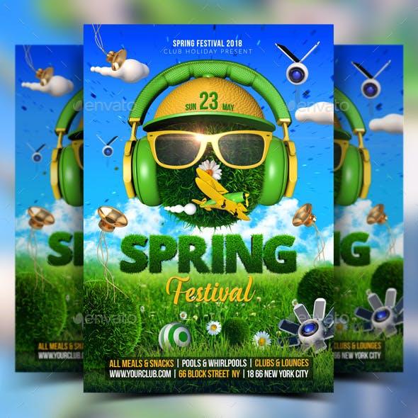 Spring Festival Flyer