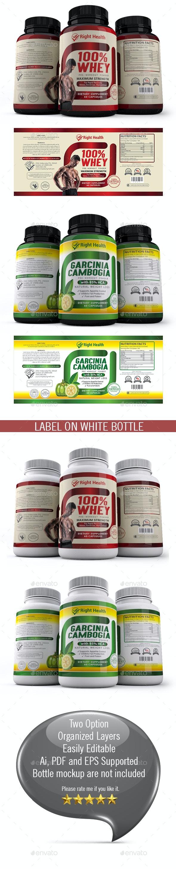 Supplement Label Templates 012