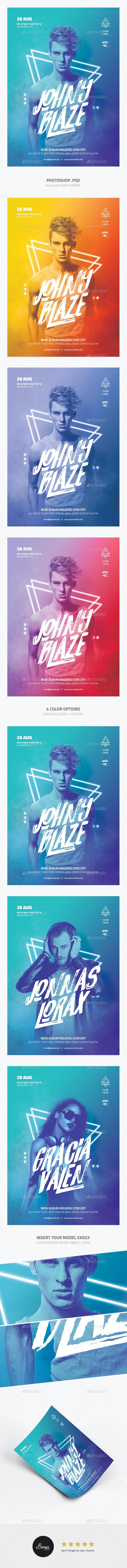 DJ Concert Flyer - Concerts Events