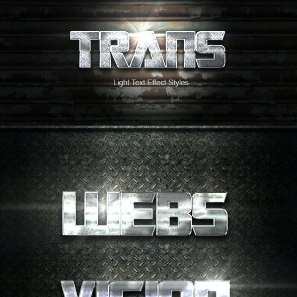 Trans Text Effect V18