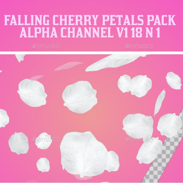 Falling Cherry Petals Pack V1 18 in 1