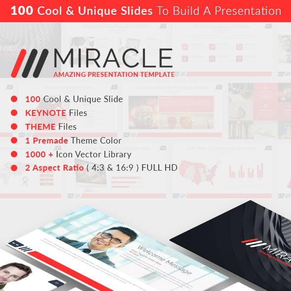 MIRACLE - Keynote Presentation Template