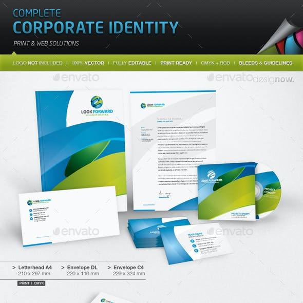 Corporate Identity - Look Forward