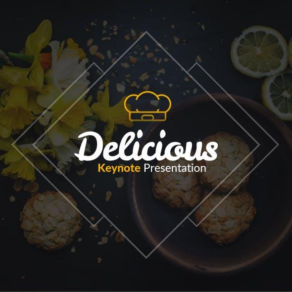 Delicious Keynote Presentation Template