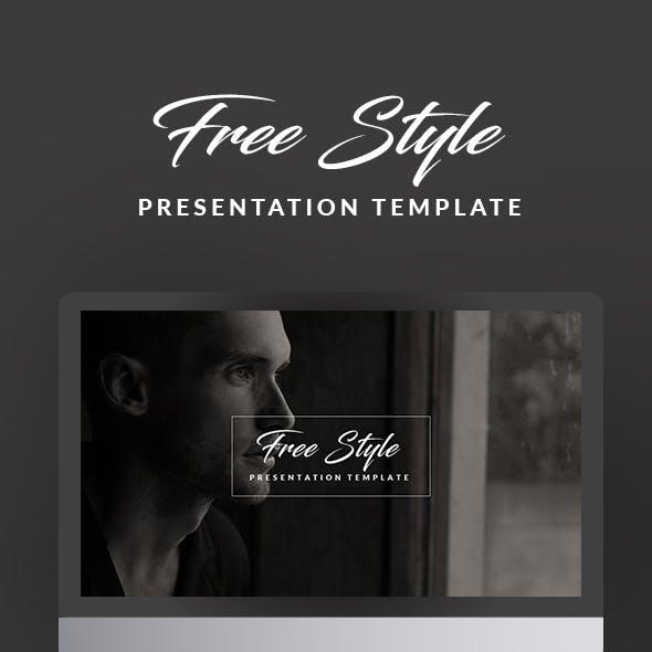 Free Style Presentation Template