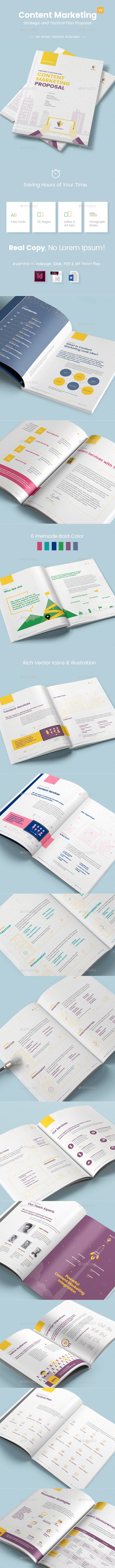 Content Marketing Proposal V2 - Proposals & Invoices Stationery
