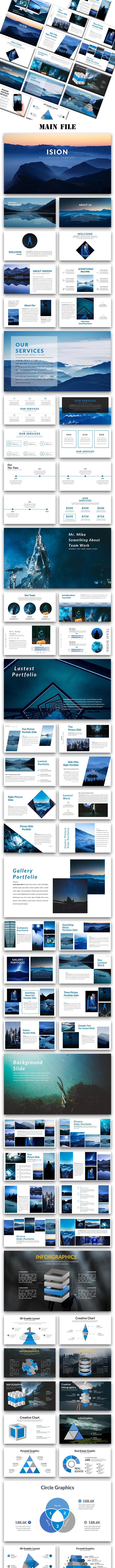 Ision - Creative Google Slide Template - Google Slides Presentation Templates