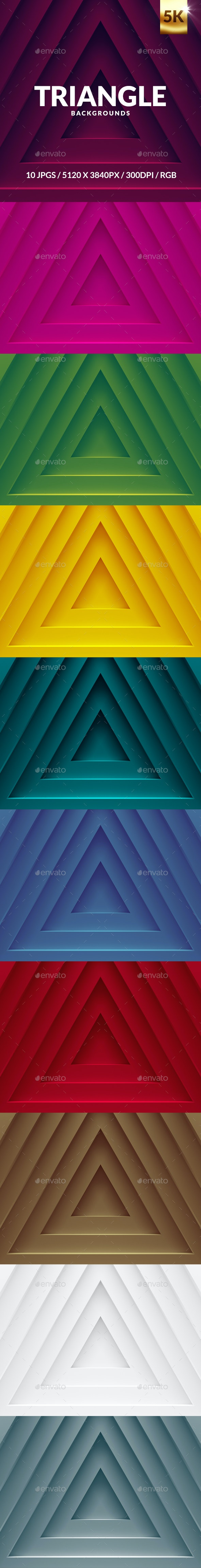 Triangle-backgrounds - Backgrounds Graphics