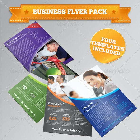 Four Business/Corporate Flyers