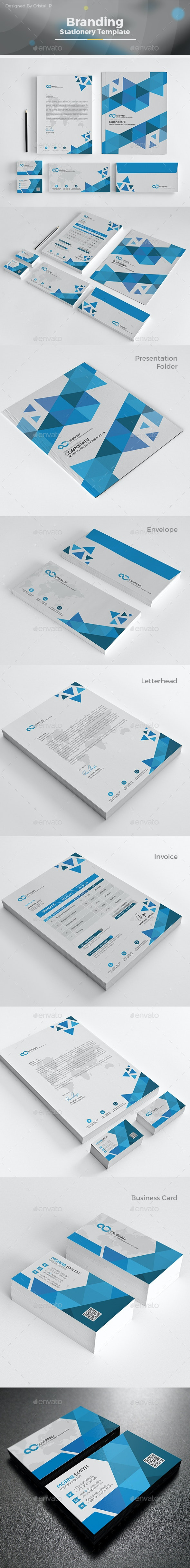 Abstract Stationery Template - Stationery Print Templates
