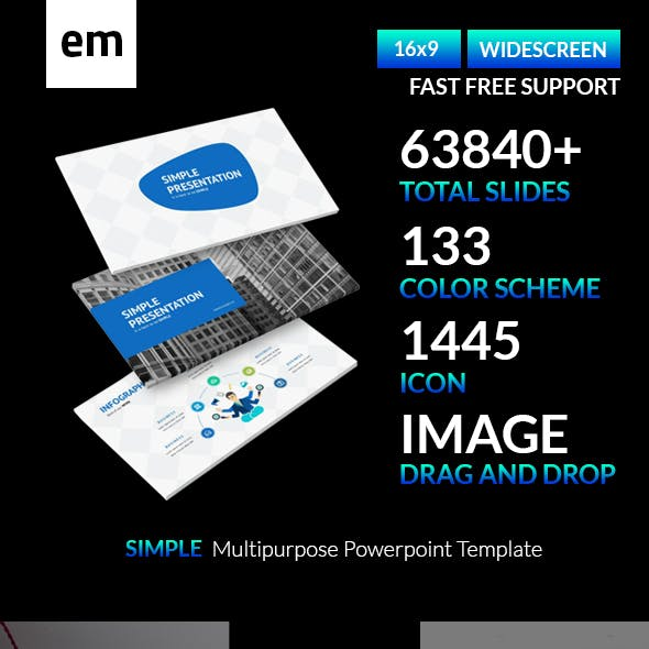 Simple Multipurpose Powerpoint Template