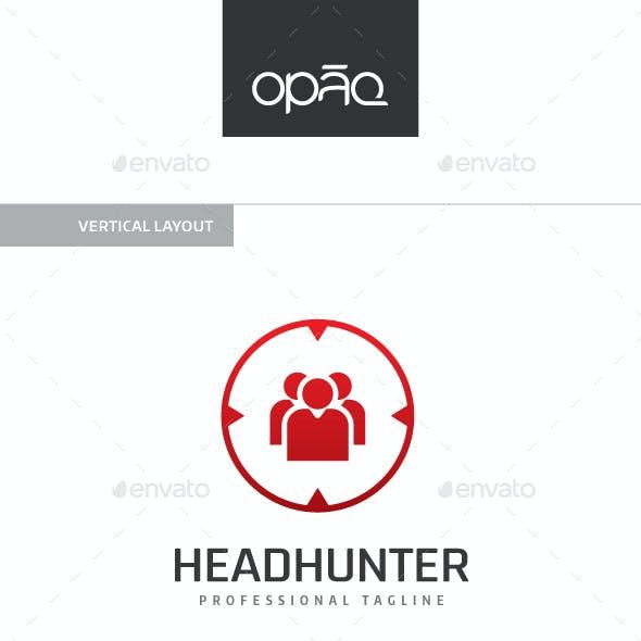 Headhunter Human Target Logo