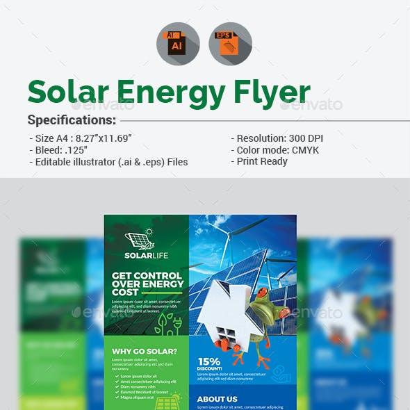 Solar Energy Flyer V2