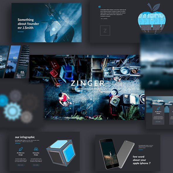 Zinger - Creative Google Slide Template