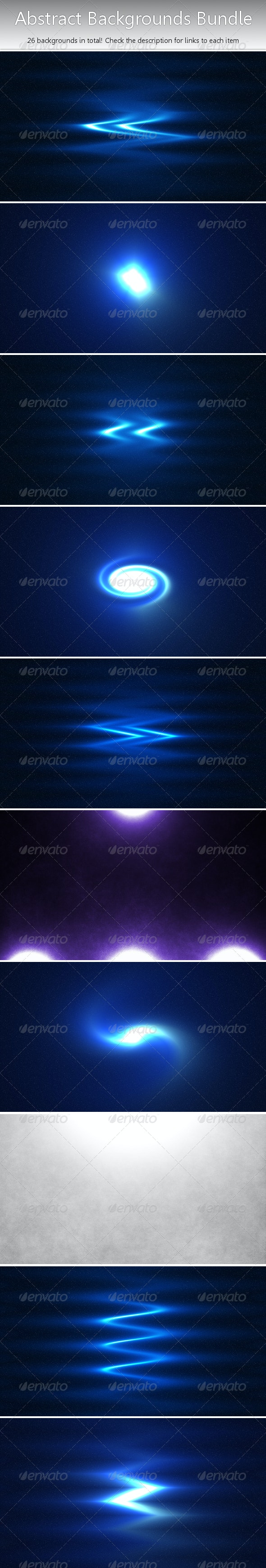 Abstract Background/Wallpaper Bundle - Abstract Backgrounds