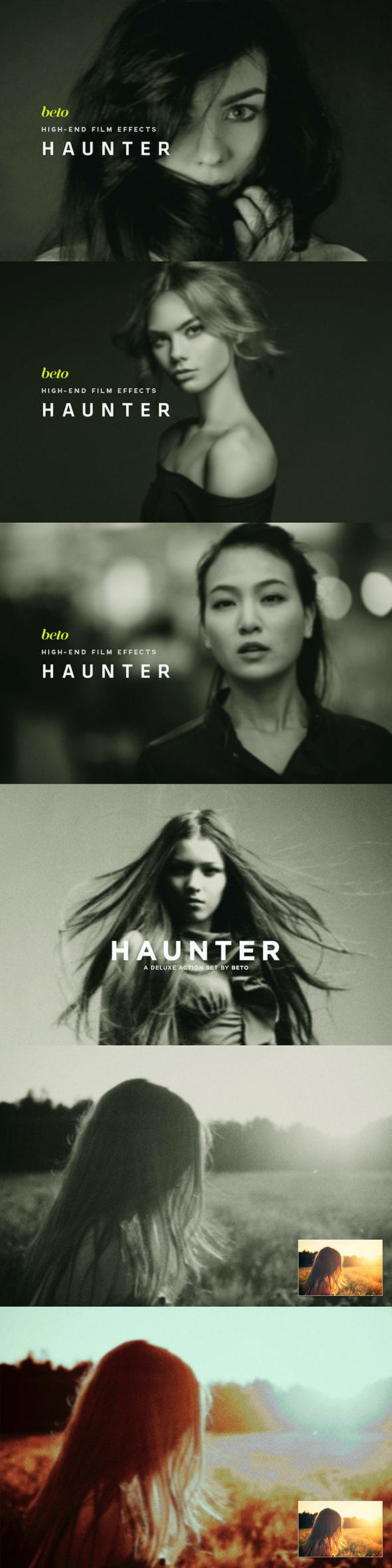 Haunter Action - Photo Effects Actions