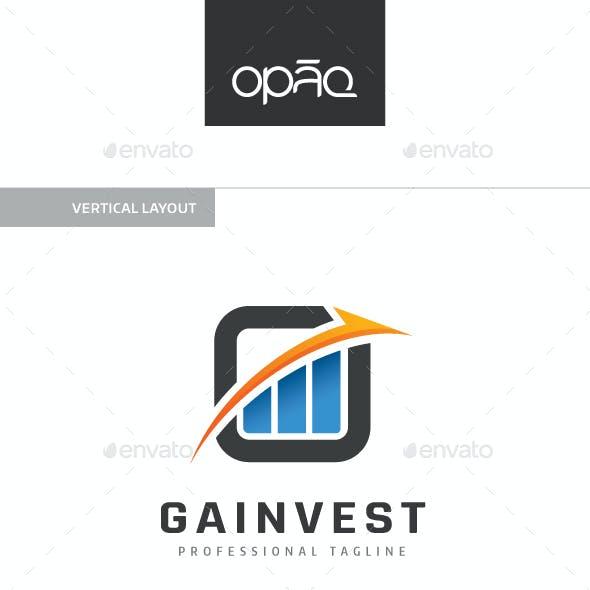 Gain Chart Investment Logo